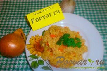 Постная пшеничная каша с луком и морковью Шаг 13 (картинка)