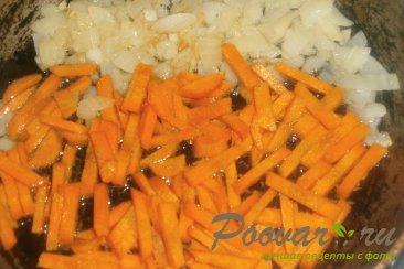 Постная пшеничная каша с луком и морковью Шаг 5 (картинка)