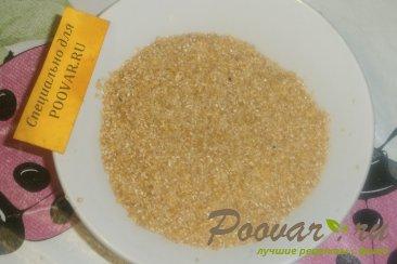 Постная пшеничная каша с луком и морковью Шаг 7 (картинка)