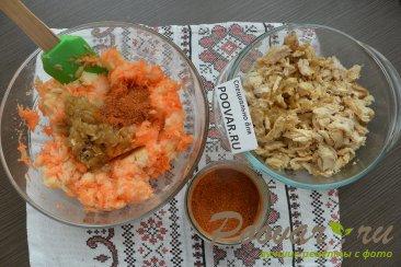 Заливной пирог с картофелем и мясом Шаг 8 (картинка)