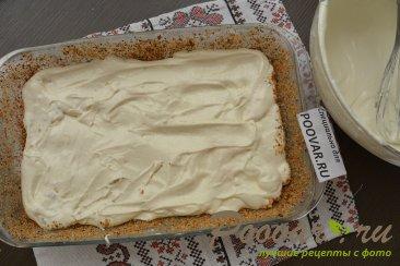 Заливной пирог с картофелем и мясом Шаг 13 (картинка)