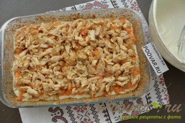 Заливной пирог с картофелем и мясом Шаг 15 (картинка)