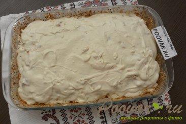 Заливной пирог с картофелем и мясом Шаг 16 (картинка)