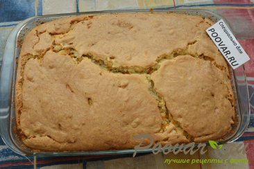 Заливной пирог с картофелем и мясом Шаг 17 (картинка)