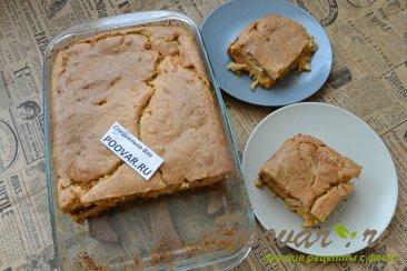 Заливной пирог с картофелем и мясом Шаг 18 (картинка)