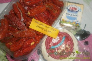 Пирог из теста фило с сыром и помидорами Шаг 4 (картинка)