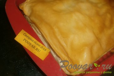 Пирог из теста фило с сыром и помидорами Шаг 15 (картинка)