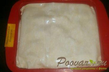 Пирог из теста фило с сыром и помидорами Шаг 14 (картинка)