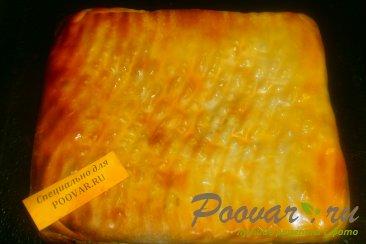 Пирог из теста фило с сыром и помидорами Шаг 16 (картинка)