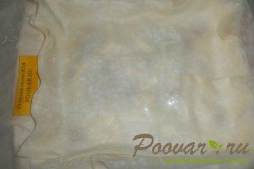Пирог из теста фило с сыром и помидорами Шаг 12 (картинка)