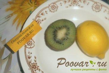 Маффины с лимоном и киви Шаг 1 (картинка)