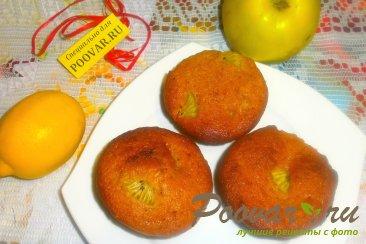 Маффины с лимоном и киви Шаг 13 (картинка)