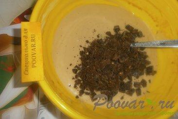Кофейный пирог с шоколадным печеньем и мандаринами Шаг 10 (картинка)