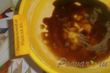 Кофейный пирог с шоколадным печеньем и мандаринами Шаг 8 (картинка)