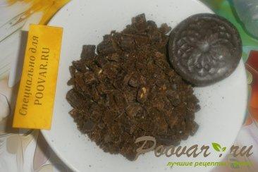 Кофейный пирог с шоколадным печеньем и мандаринами Шаг 9 (картинка)