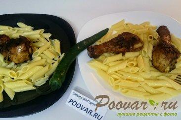 Жареная курица с макаронами на сковороде Шаг 11 (картинка)