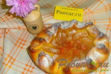 Открытый пирог с пряной грушей Шаг 16 (картинка)