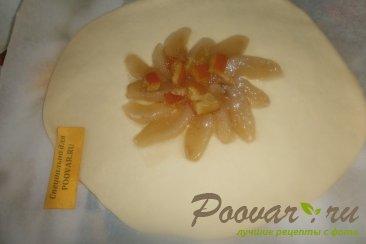 Открытый пирог с пряной грушей Шаг 10 (картинка)