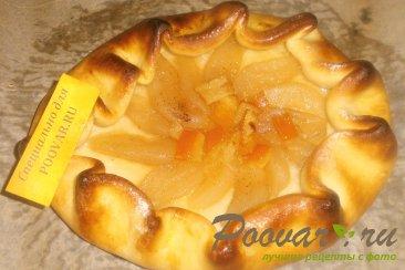 Открытый пирог с пряной грушей Шаг 14 (картинка)