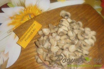 Пирог из картофельного теста с грибами и фаршем Шаг 3 (картинка)
