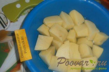 Пирог из картофельного теста с грибами и фаршем Шаг 1 (картинка)