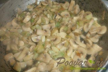 Пирог из картофельного теста с грибами и фаршем Шаг 4 (картинка)