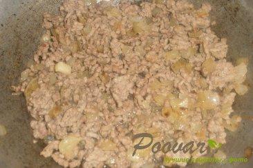 Пирог из картофельного теста с грибами и фаршем Шаг 8 (картинка)