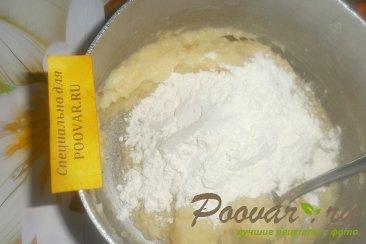 Пирог из картофельного теста с грибами и фаршем Шаг 10 (картинка)