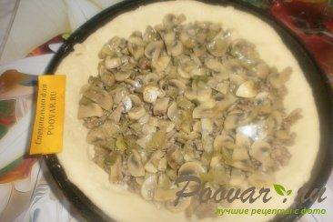Пирог из картофельного теста с грибами и фаршем Шаг 16 (картинка)