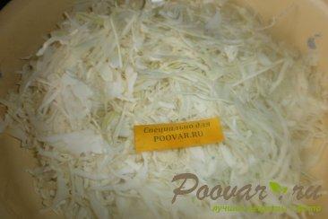 Салат из белокочанной капусты Шаг 3 (картинка)