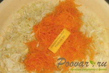 Салат из белокочанной капусты Шаг 10 (картинка)