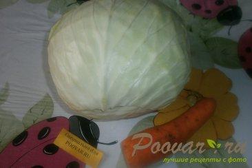 Салат из белокочанной капусты Шаг 1 (картинка)