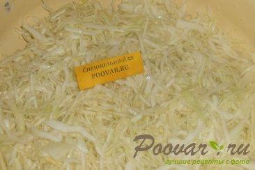 Салат из белокочанной капусты Шаг 5 (картинка)