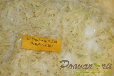 Салат из белокочанной капусты Шаг 8 (картинка)