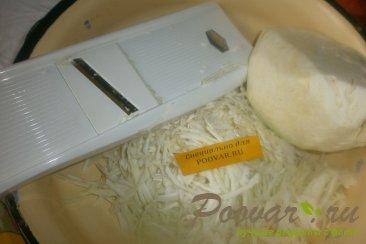 Салат из белокочанной капусты Шаг 2 (картинка)