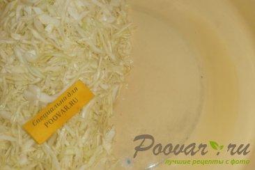 Салат из белокочанной капусты Шаг 6 (картинка)