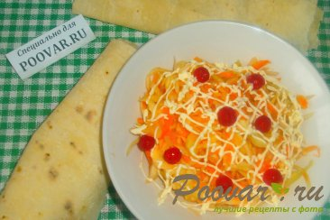 Салат из белокочанной капусты Шаг 14 (картинка)