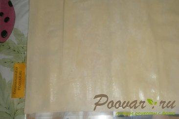 Млечна баница с кефиром Шаг 3 (картинка)