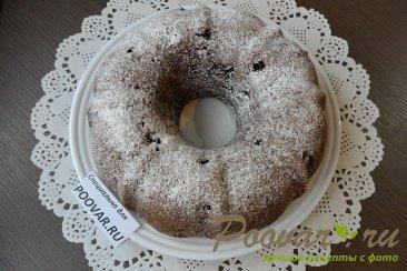 Постный шоколадный манник с ягодой Шаг 17 (картинка)