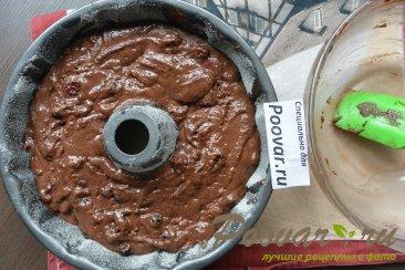 Постный шоколадный манник с ягодой Шаг 14 (картинка)