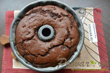 Постный шоколадный манник с ягодой Шаг 15 (картинка)
