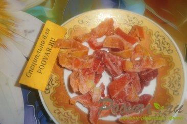 Тушёная курица с овощами и томатом Шаг 10 (картинка)