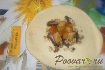 Лепёшки со сладкой начинкой Шаг 14 (картинка)