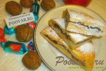 Лепёшки со сладкой начинкой Шаг 20 (картинка)