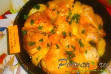 Курица с мандаринами и апельсинами Шаг 11 (картинка)