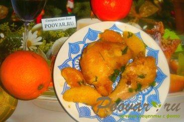 Курица с мандаринами и апельсинами Шаг 12 (картинка)
