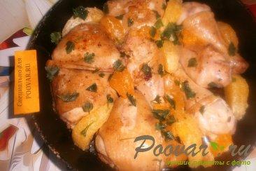 Курица с мандаринами и апельсинами Шаг 10 (картинка)