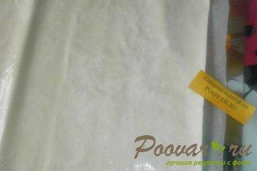 Баница с твёрдым сыром из теста фило Шаг 5 (картинка)