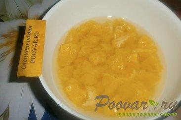 Желе из мандаринов и апельсинов Шаг 4 (картинка)