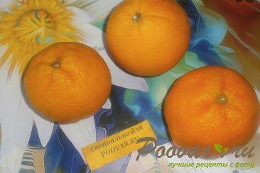 Желе из мандаринов и апельсинов Шаг 1 (картинка)